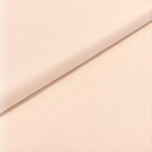 Patchworkstoff Pastellpunkte auf beige, 110cm breit