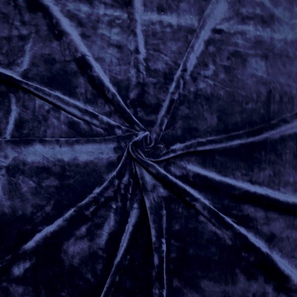 Microfaser-Nicki dunkelblau