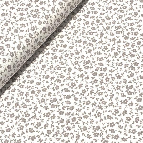 Streublumen weiß-grau 100%BW