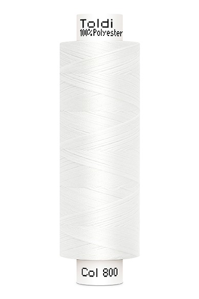 Toldi Nähgarn weiß (800), 500m