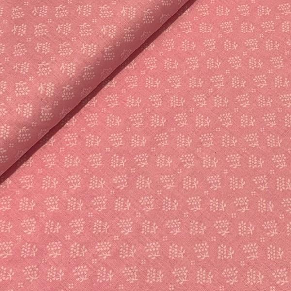 Mini Blumen rosa 100%BW