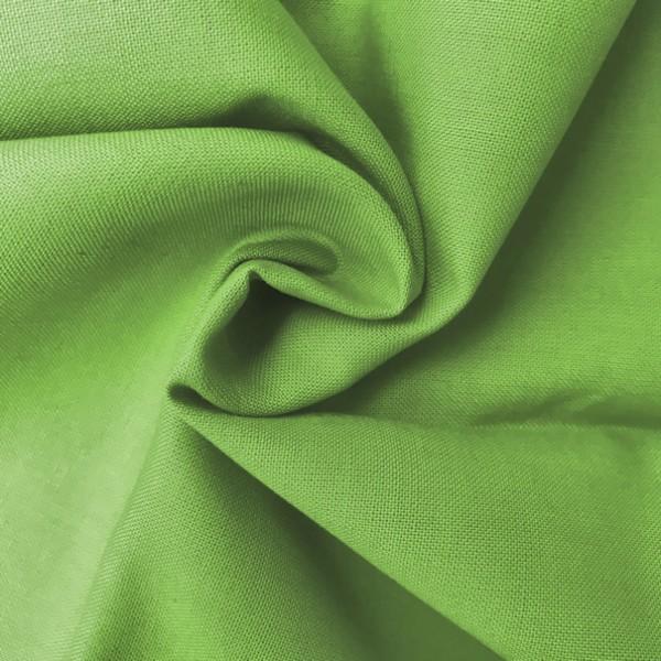Uni-Baumwollstoff hellgrün
