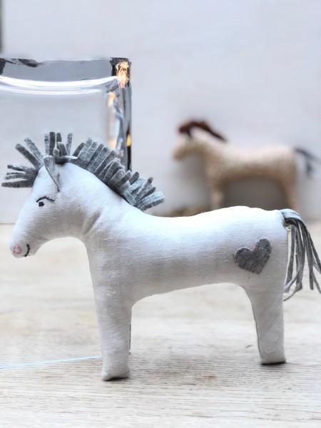 Pferdchen Retro Schnitt, Anleitung und Material
