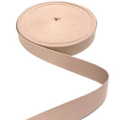 BW-Gurtband beige, 30mm breit