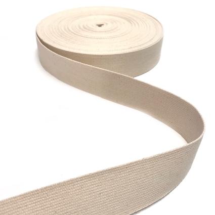 Gurtband BW natur, 40mm breit
