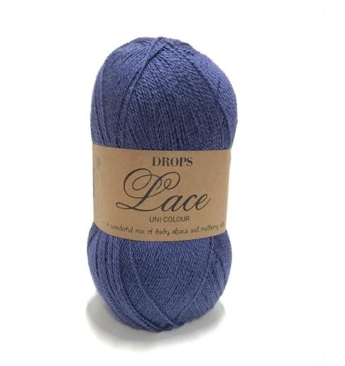 Lace (6790) königsblau uni