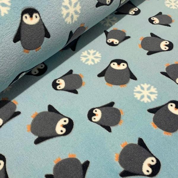 Micro-Fleece Pinguin mint