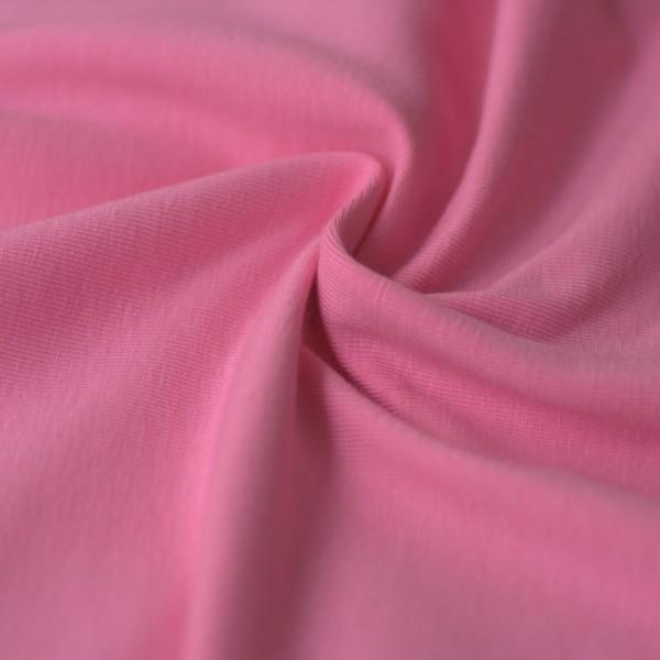 Jersey uni bonbon-rosa