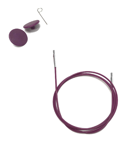 KnitPro Nadelseil 100cm für austauschbare Rundstricknadelspitzen