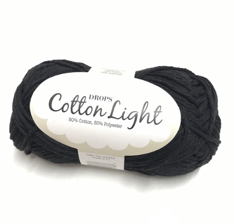 Cotton Light (20) schwarz
