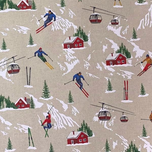 Dekostoff Ski
