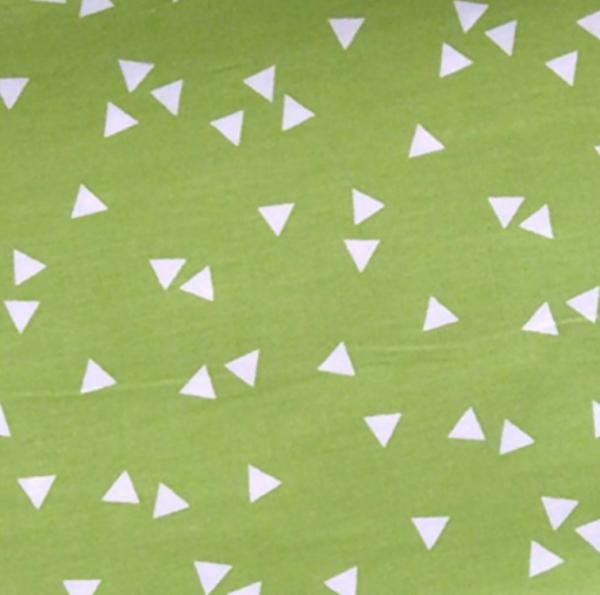 Triangle, Dreiecke hellgrün