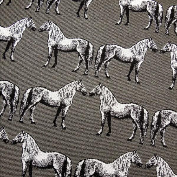 Gobelin Pferde, grau