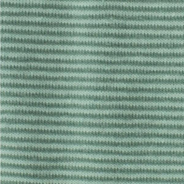 Bündchen Mini-Streifen mint-grün