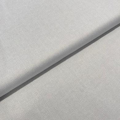 Patchworkstoff Pastellpunkte auf hellgrau, 110cm breit