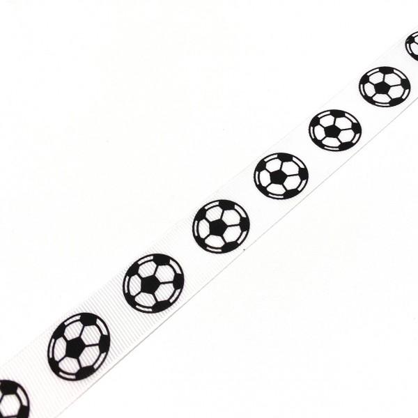 Ripsband Fußball 30mm breit