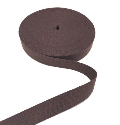 BW-Gurtband braun, 30mm breit