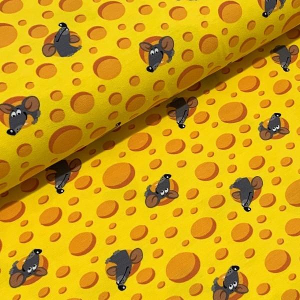 Jersey Maus und Käse gelb
