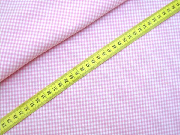 Vichy-Karo rosa 2 Größen