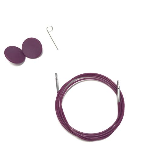 KnitPro Nadelseil 120cm für austauschbare Rundstricknadelspitzen