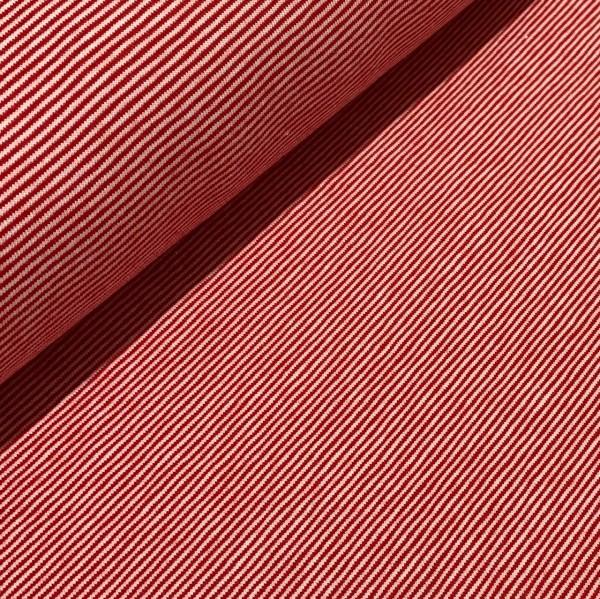 Jersey Mini Ringel rot