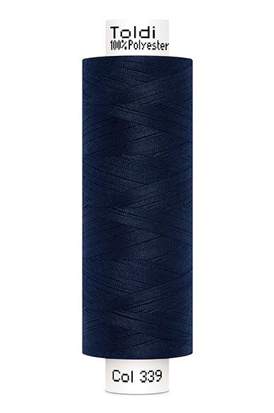 Toldi Nähgarn nachtblau (339), 500m