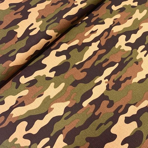 Camouflage grün 100%BW
