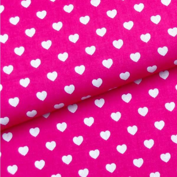Herzen pink-weiß
