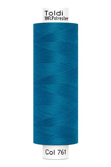 Toldi Nähgarn blau (761), 500m
