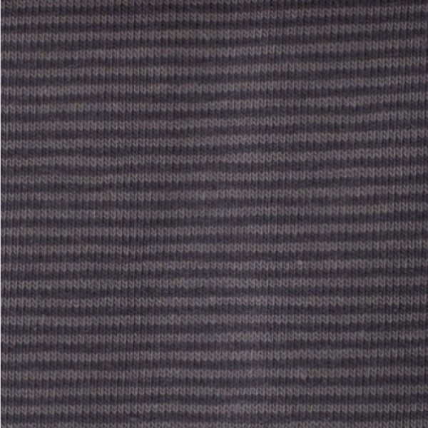 Jersey Mini-Streifen dunkelgrau-grau