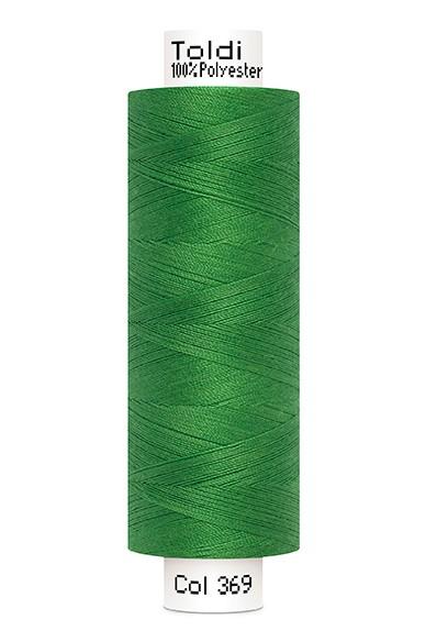 Toldi Nähgarn grün (396), 500m