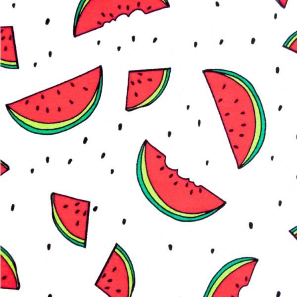 Jersey Melone Wassermelone weiß