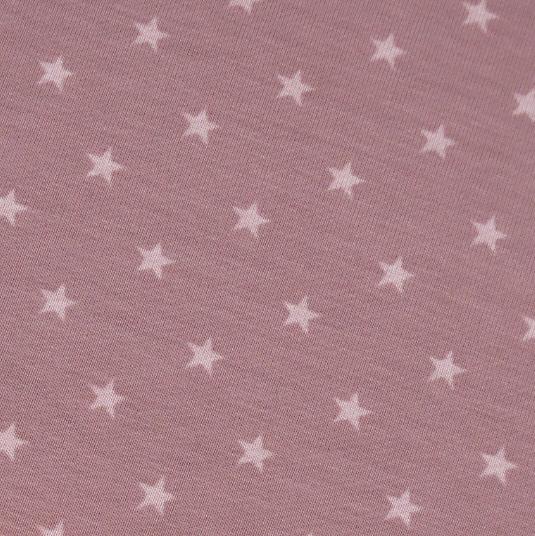 Jersey Mini-Sterne altrosa