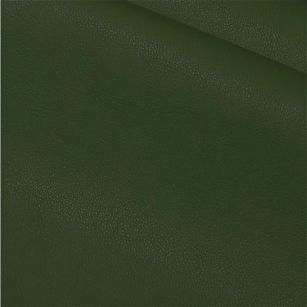 Kunstleder uni tannengrün (tiefes dunkelgrün)