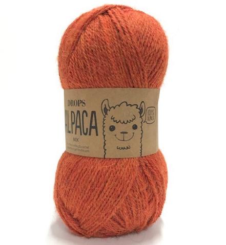 Alpaca (2925) orangemeliert mix