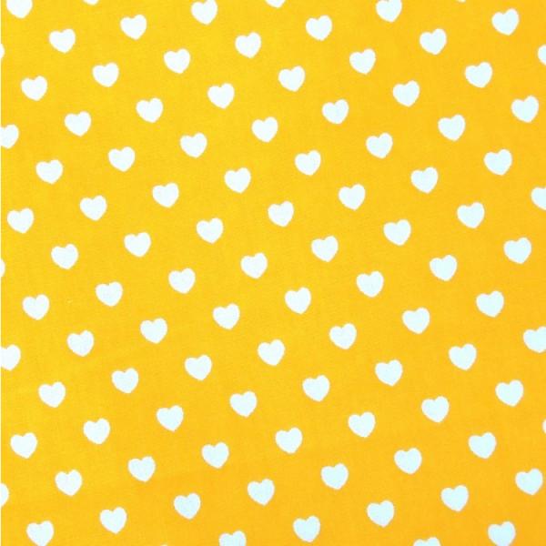 Herzen gelb-weiß