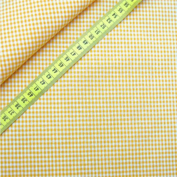 Vichy-Karo gelb 2 Größen