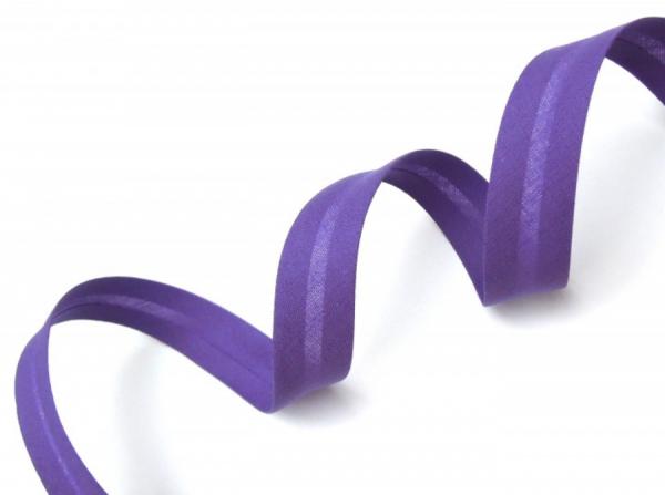 5m Schrägband uni violett 353