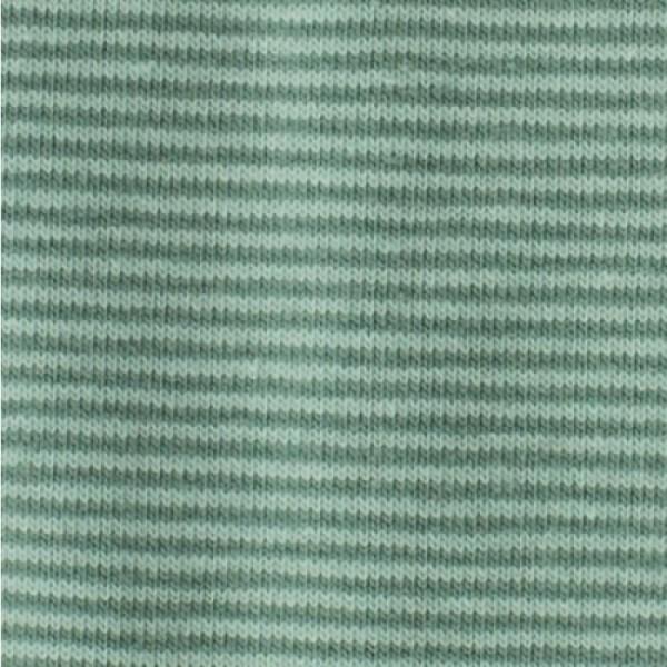 Jersey Mini-Streifen mint-rauchgrün