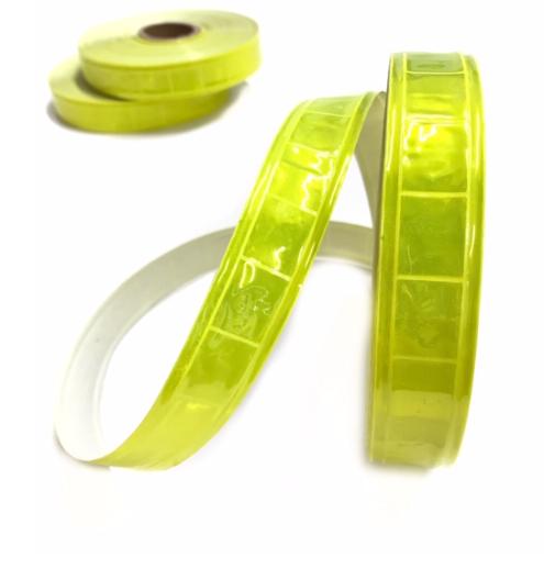 Reflektor-Folienband in neongelb, 3m