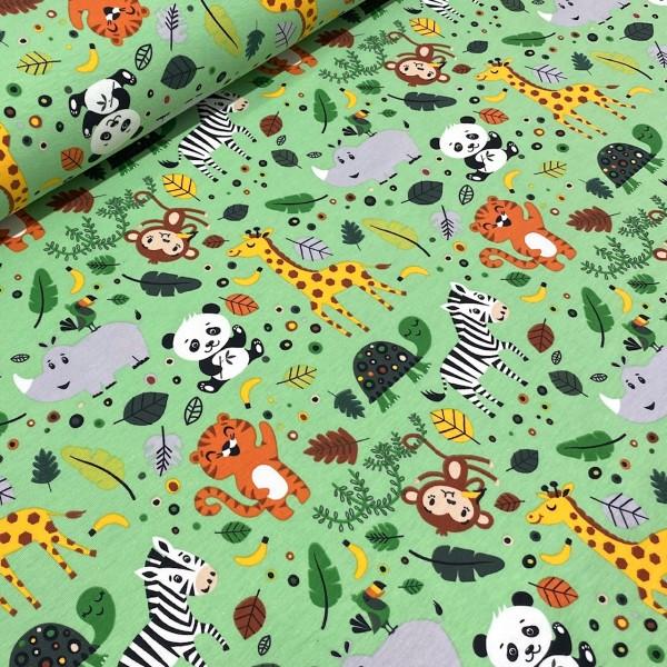 Jersey Zoo-Tiere hellgrün