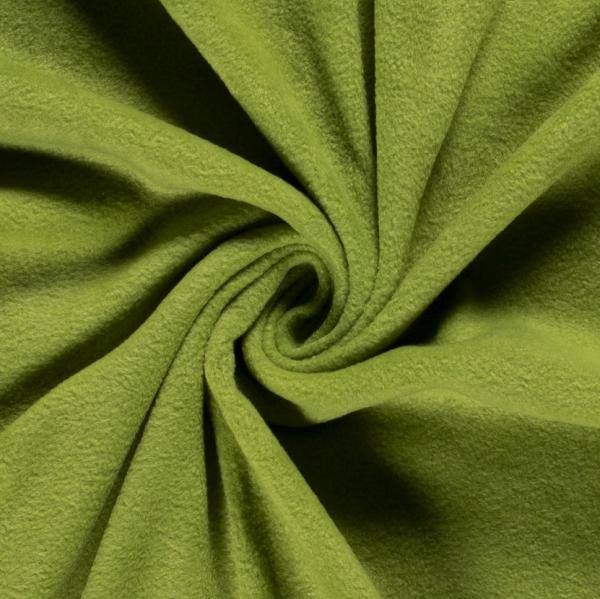Polar Fleece uni helles apfelgrün (123) 100% PL