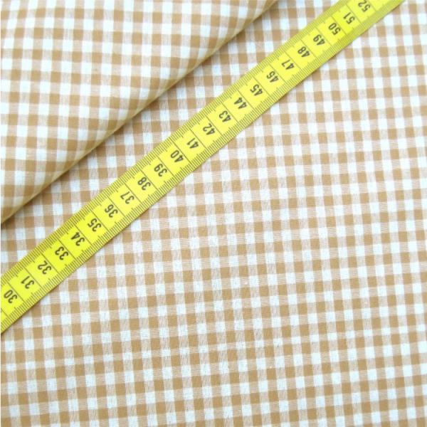 Vichy-Karo beige 2 Größen