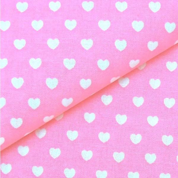 Herzen rosa-weiß