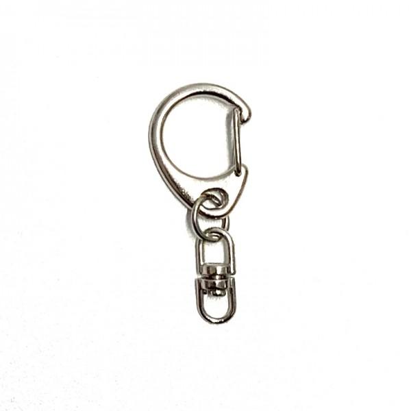 Schlüsselanhänger klein,silber