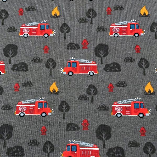 Jersey Feuerwehr auf anthrazit