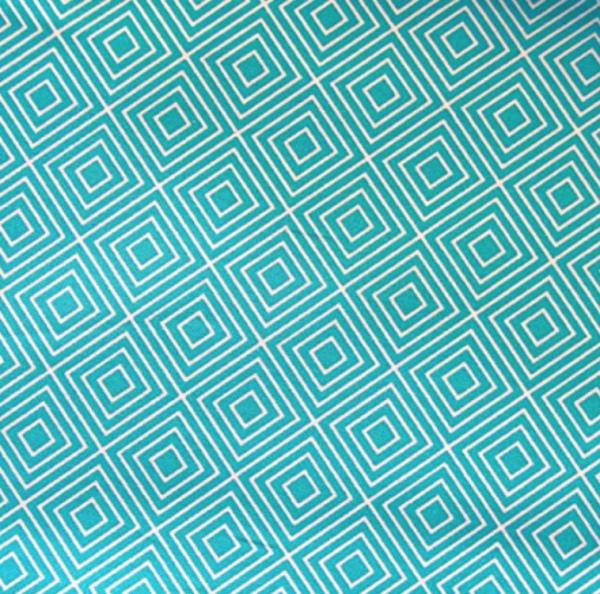 Geometrics, Square türkis