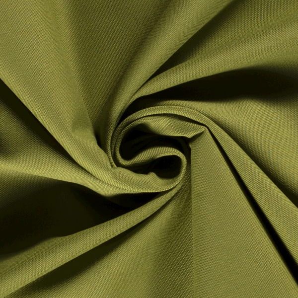 Canvas Baumwolle uni moosgrün