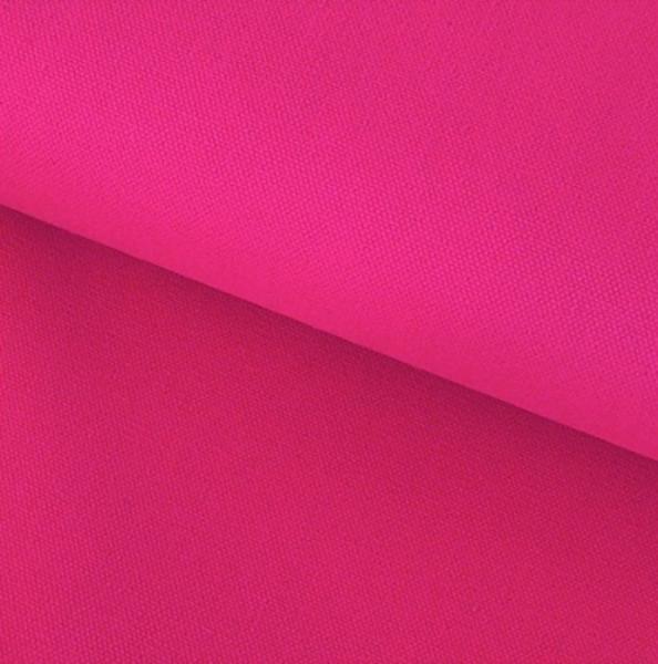 Canvas Baumwolle uni pink