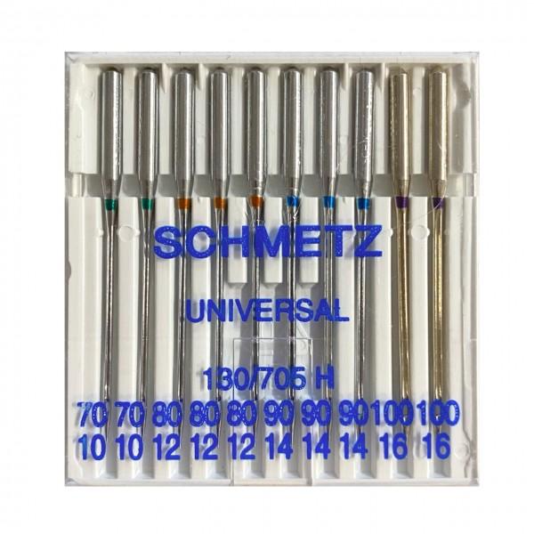 10 Nähmaschinennadeln Universal Stärke 70-100, Schmetz